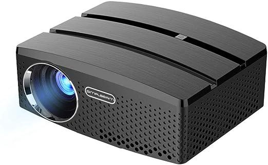 HKYMBM Proyector Portátil HD, Proyector WiFi Inteligente Bluetooth ...
