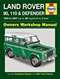 Land Rover 90, 110 & Defender Diesel Service and Repair Manual (Haynes Service and Repair Manuals) (2014-09-04)