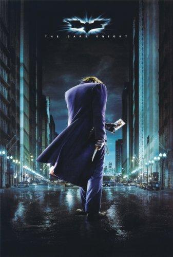 (11x17) The Dark Knight Joker Gotham Movie (Dark Knight Joker Poster)