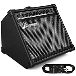 Donner DA-35 AMP 35-Watt Electronic Drum Amplifier Keyboard Amplifier with Aux in and Wireless audio connection, Drum…