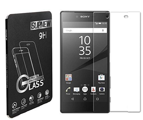 [2-pack] Sony Xperia Z5 Compact Panzerglas, Supone Gehärtetem Glas Schutzfolie Hartglas Schutzglas für Xperia Z5 Compact