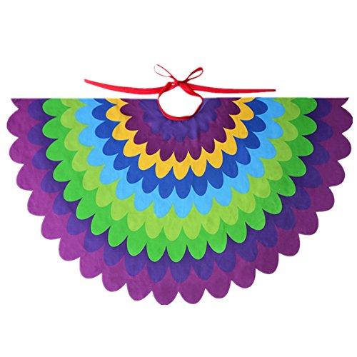 Starkma Bird Fairy Peacock Wings Costume for Kids (D)