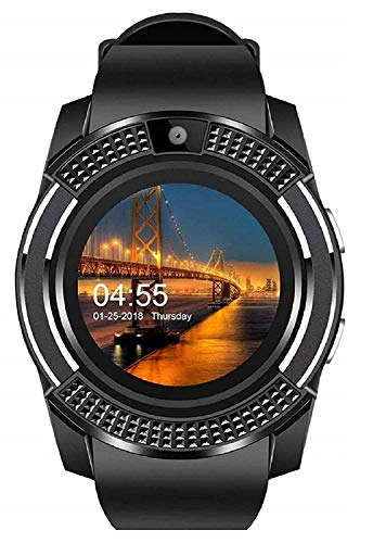 Xotak Bluetooth Smart Watch with Sim Card (Black) (B07RWBQWG5) Amazon Price History, Amazon Price Tracker