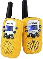Retevis RT-388 Kids Walkie Talkies 2 Way Radio for Kids LCD Display Flashlight VOX Toy Walkie Talkies for Kids for...
