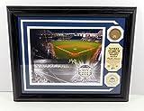 Highland Mint Yankee Stadium Photo with Coin and Dirt MLB COA Framed DA025238 - MLB Game Used