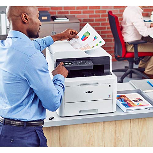 Brother MFC-L3770CDW Color All-in-One Laser Printer with Wireless, Duplex Printing and Scanning by Brother (Image #2)