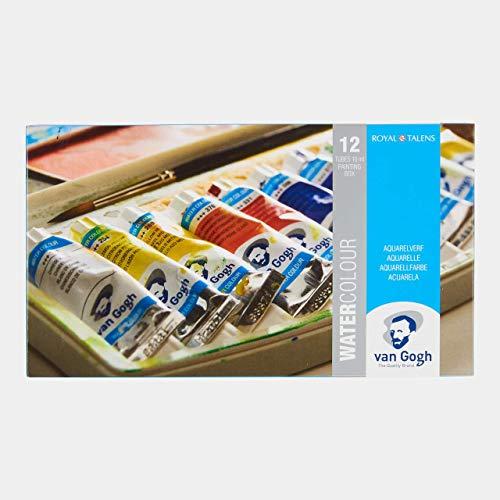 Van Gogh Watercolor Paint Set, Plastic Pocketbox, 12x10ml General Selection