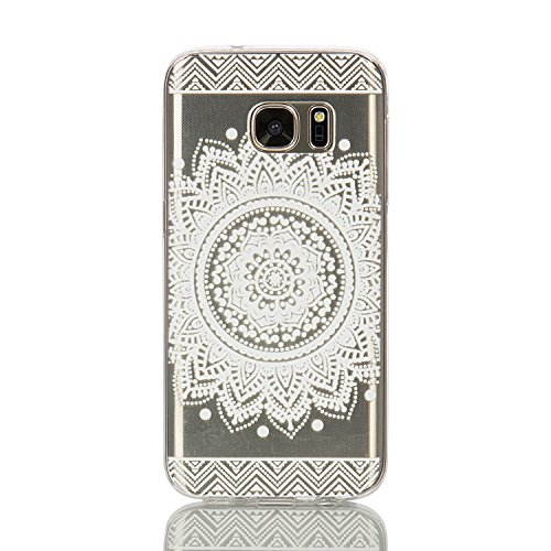 360 Full Hard Plastic Case for Samsung S7 Edge (White) - 7