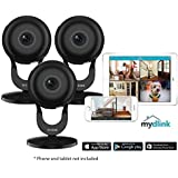 3 Pack D-Link 1080p Wireless Night Vision Surveillance Camera with Mobile App DCS-2630L (Certified Refurbished)