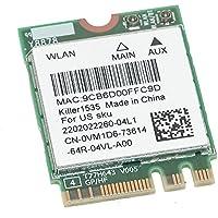 Dell VM1D6 Killer1535 WiFi N1535 Dual Band WLAN 802.11ac/a/b/g/n + Bluetooth 4.1