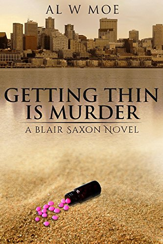A year ago, baseball player Blair Saxon was enjoying his Major League Debut. Today, he's wasting away on a beach, the victim of a fastball to the head…Getting Thin is Murder by Al Moe