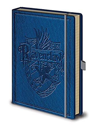 Official Harry Potter Ravenclaw House Crest Premium Hardback Notebook Journal