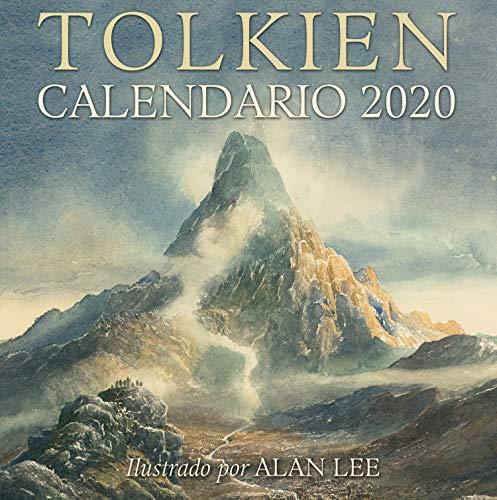 Calendario Tolkien 2020: Ilustrado por Alan Lee: 9 (Biblioteca J. R. R. Tolkien) por J. R. R. Tolkien,Simón Saitó