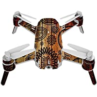 Skin For Yuneec Breeze 4K Drone – Wooden Floral | MightySkins Protective, Durable, and Unique Vinyl Decal wrap cover | Easy To Apply, Remove, and Change Styles | Made in the USA