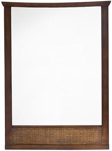 American Standard 9212101.336 Tropic Wall Mirror, Nutmeg