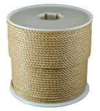 T.W . Evans Cordage 43710 1/4-Inch by 600-Feet Twisted Polypro, Brown by T.W . Evans Cordage Co.