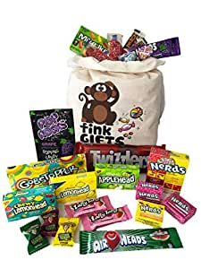 The USA Americano One | Bolsa de regalo Americano Candy USA | Bolsa De Caramelos Y Dulces Americanos | Candy Hamper Sweets & Chocolate Selection Paquete de cajas | fink gifts