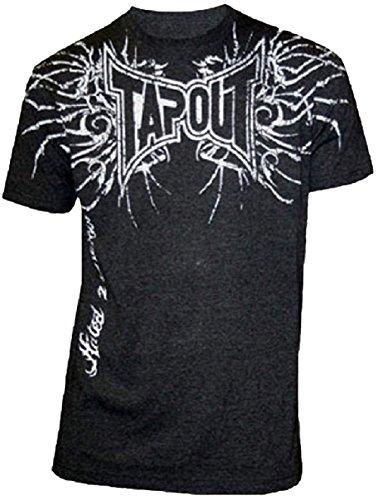 Tapout Bones T-shirt (XXX-Large, Black)