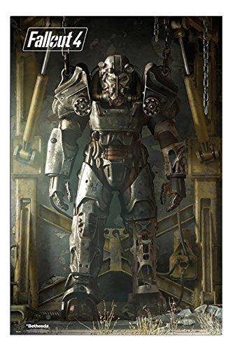 Fallout 4 Cover Art Poster Gloss Laminated - 91.5 x 61cms