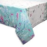 Mermaid Plastic Tablecloth, 84