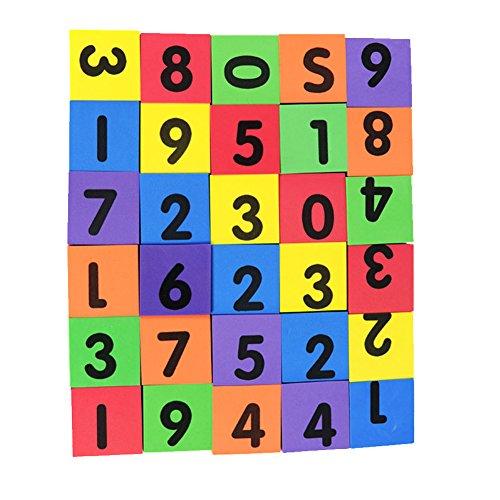 MOBU Eva Foam Building Blocks 30 Pcs Soft Alphabet Blocks (ABC) Numbers Blocks (123) Animal Multi-colored Child's Cognitive Preschool Educational Toys by MOBU (Image #3)