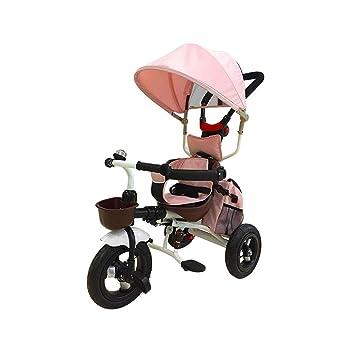 Carro de bebé Triciclo para niños Bicicleta 4 en 1 Plegable ...