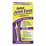 Webber Naturals Osteo Joint Ease with InflamEase and Glucosamine, Chondroitin and MSM Caplets
