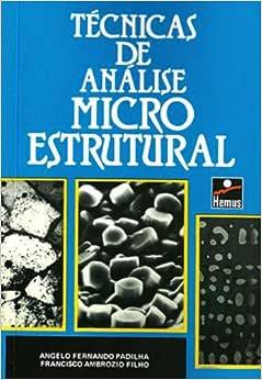 Técnicas de Análise Microestrutural | Amazon.com.br