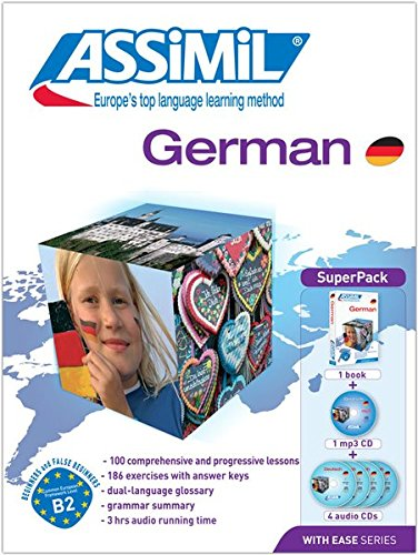 ASSIMIL German: Lehrbuch + 4 Audio-CdS + 1 mp3-CD