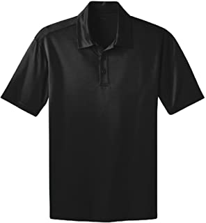 cede50e77 Joe's USA Men's Big & Tall Short Sleeve Moisture Wicking Silk Touch Polo  Shirt