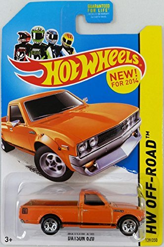 Hot Wheels 2014 HW Off-Road Datsun 620 139/250, Orange