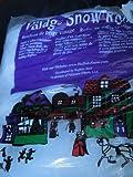 Christmas Village Buffalo Snow Roll 15 Inches X