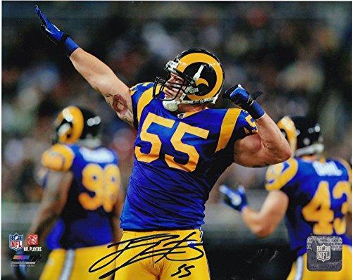 Signed James Laurinaitis Photo - 8x10 - Autographed NFL Photos ()