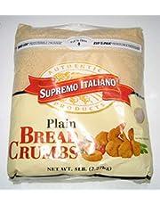 NULL Unit Bread Crumbs Plain 5LBS - SUPREMO Italiano