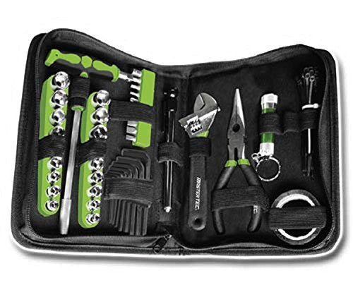 MasterTEC Compact 75 Piece Tool Set in Zippered Cloth Storage Case