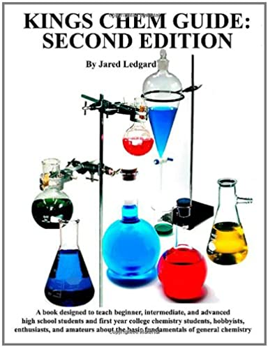 kings chem guide second edition jared ledgard 9780578058658 rh amazon com Period Survival Guide Pool Chemistry Guide