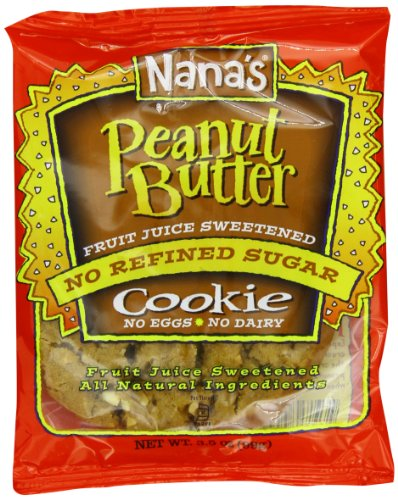 Nana's Peanut Butter Cookies, 3.5-Ounce Packages (Pack of 12)