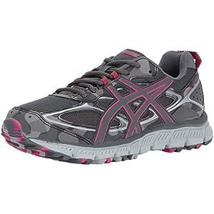 ASICS Women's Gel-Scram 3 Running Shoe, Carbon/Carbon/Cosmo Pink, 9.5 Medium US