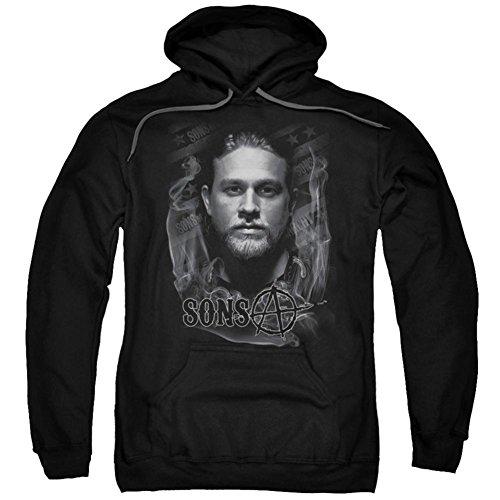 Anarchy Hooded Sweatshirt - Hoodie: Sons Of Anarchy - Jax Pullover Hoodie Size XXXL
