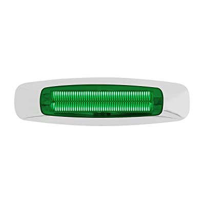 """GG Grand General 74746 Light (5-3/4"""" Rectangle Prime Green 4 LED Dual Function Int.): Automotive"""