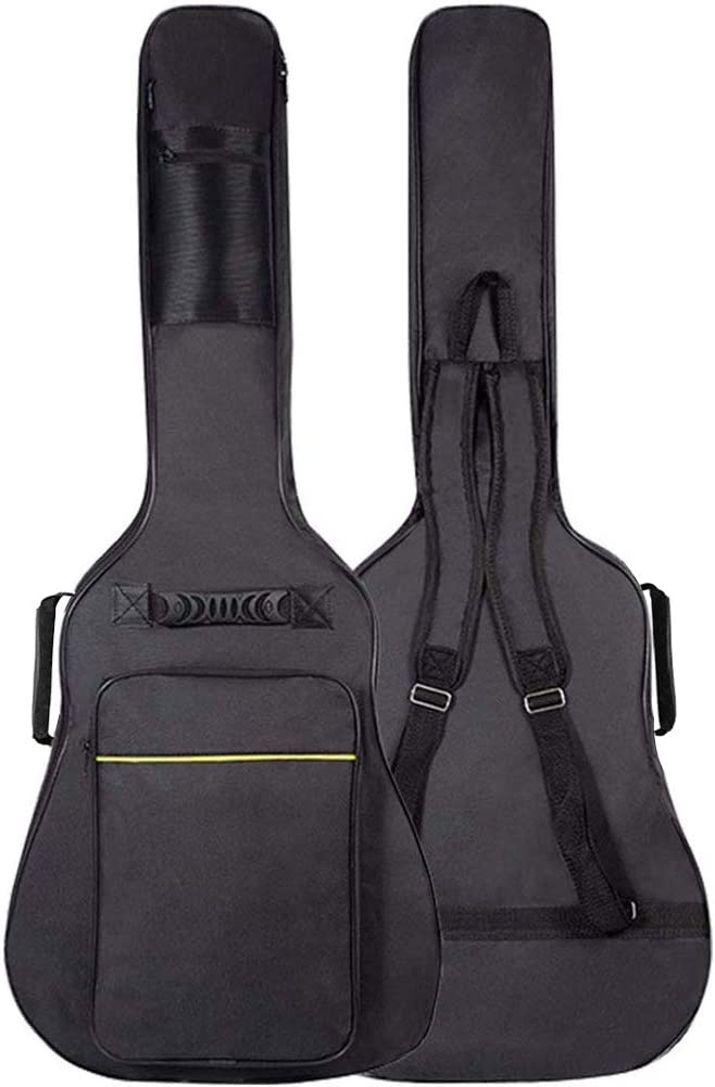 GLEAM Guitar Gig Bag - 0.3 Inch Sponge Padding Fit 41 Inch Acoustic Waterproof 51l4svD2BnNL