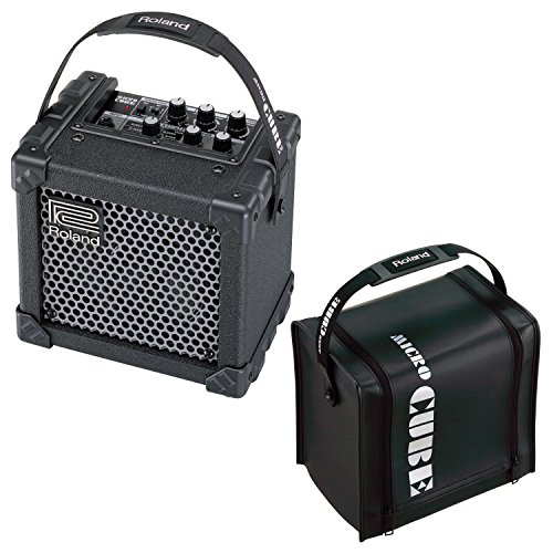 roland micro cube gx battery powered guitar combo amp with cb mcc1b cover black bundle. Black Bedroom Furniture Sets. Home Design Ideas