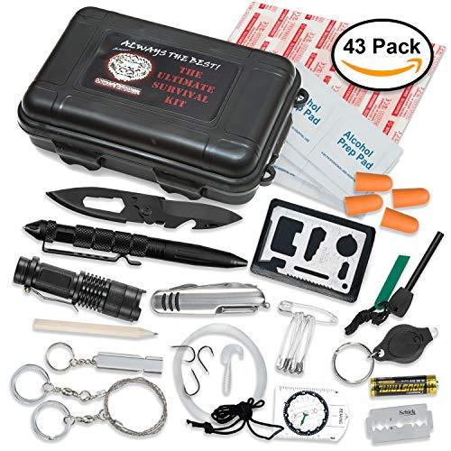 Ultimate 43-in-1 Emergency Survival Kit | Outdoor Multi-Tool