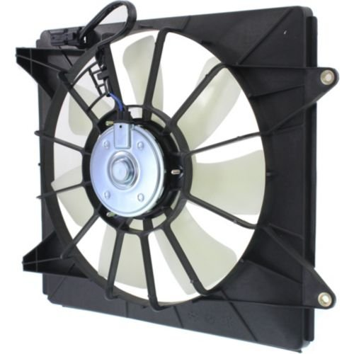 A/c Condenser Fan Shroud Assembly (Perfect Fit Group REPH160971 - Accord A/ C Condenser Fan Shroud Assembly, RH, 4 Cyl Eng., Denso Brand)