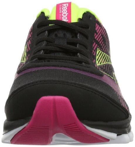 Reebok V52574 - Zapatillas para correr para mujer Noir - Schwarz (BLACK/PINK/YELLOW/WH)