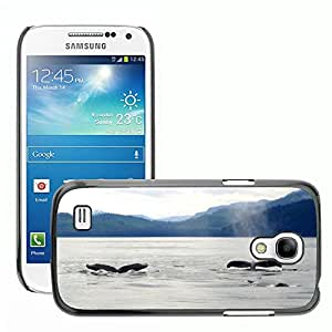 Hot Style Cell Phone PC Hard Case Cover // M00115235 Whales Marine Ocean Sea Animals // Samsung Galaxy S4 Mini i9190