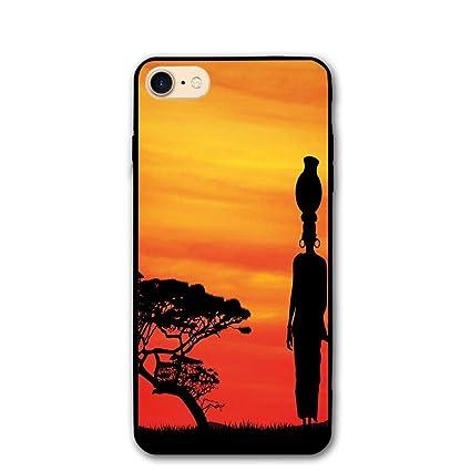 Amazon Com Haixia Iphone 7 8 Phone Case 4 7 Inch African