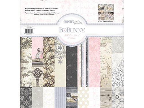 Bo Bunny BBU20916844 Winter Wishes Collection Pack