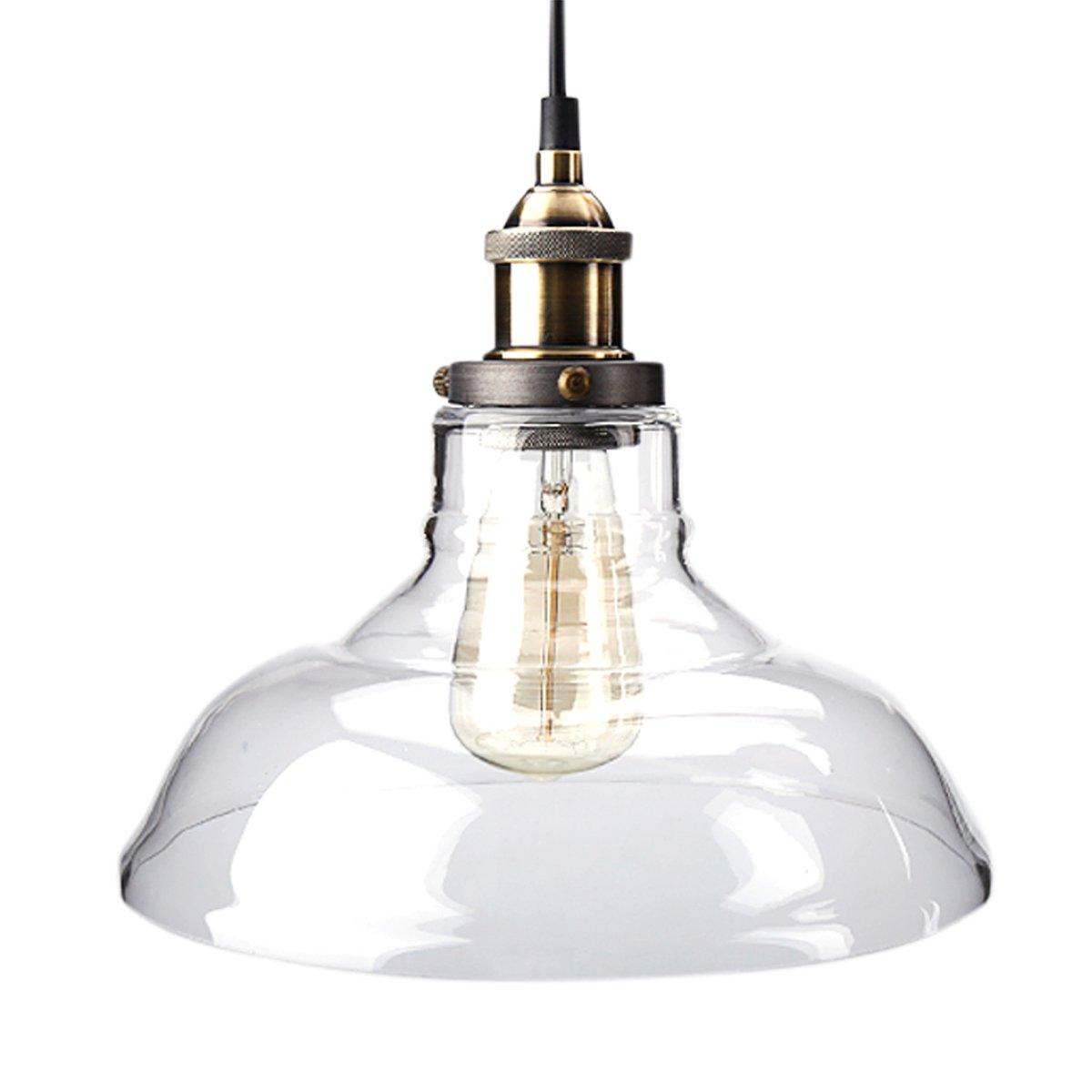 Pendant Light Zhma Industrial Style 1 Light Pendant Glass Hanging