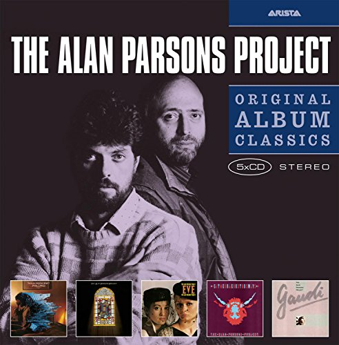 - 5cd Original Album Classics (Pyramid /The Turn Of A Friendly Card/Eve/Ste Reotomy/Gaudi)